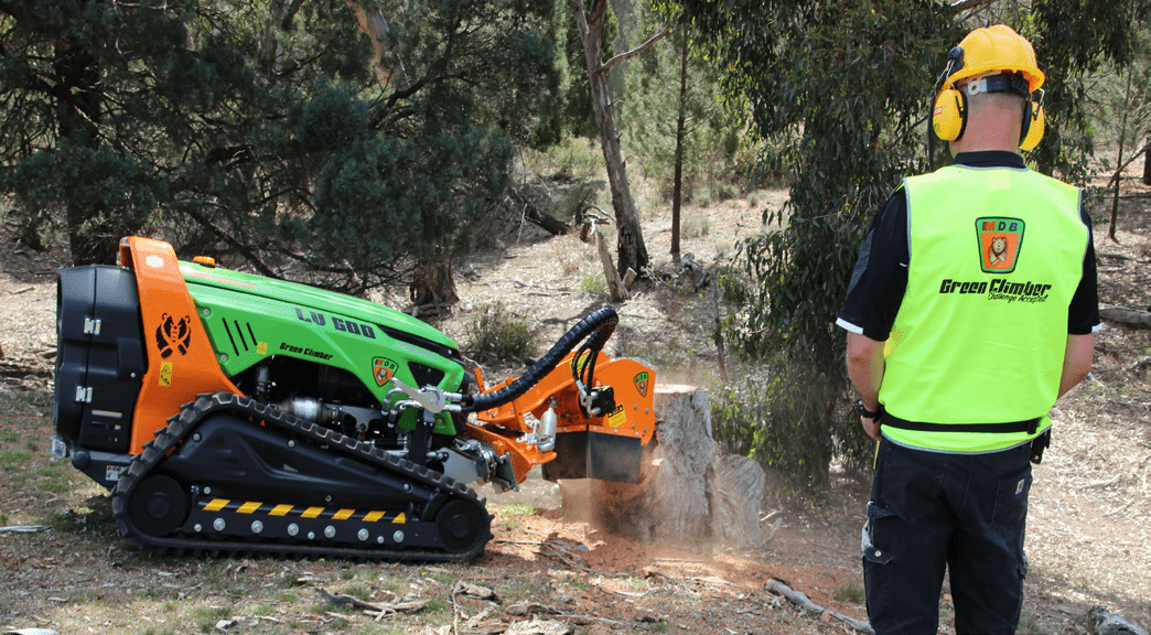 STUMP GRINDER - Optional Attachment